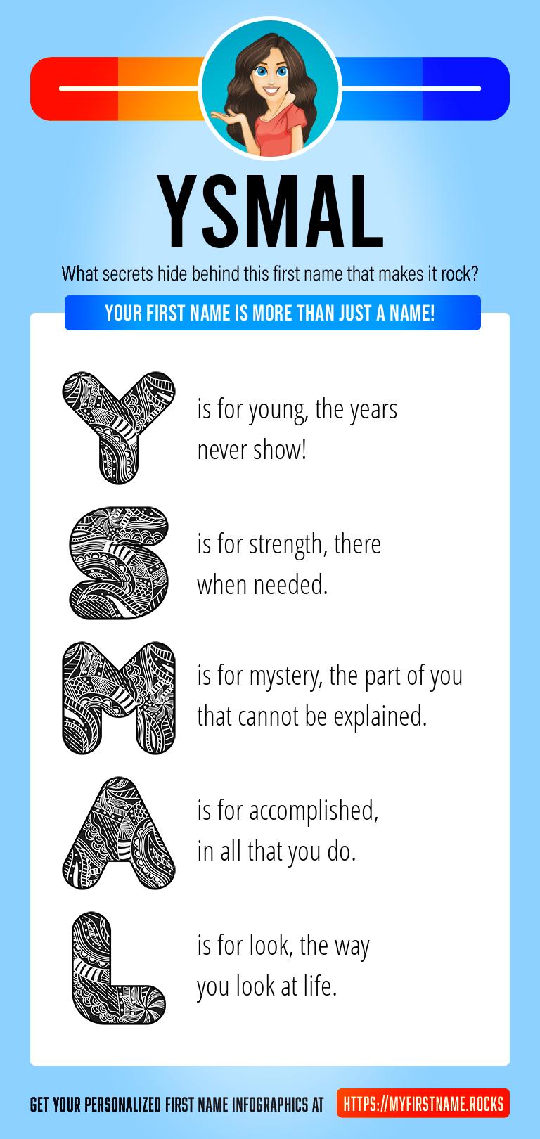 Ysmal Infographics