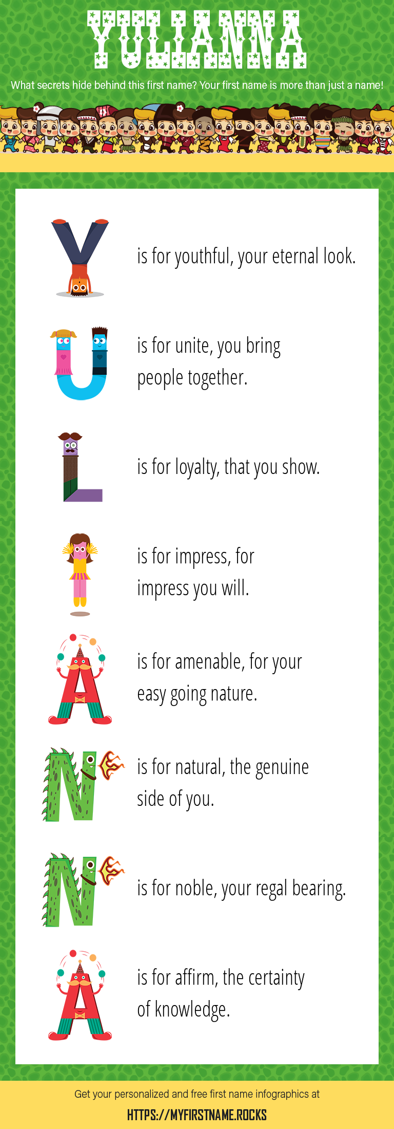 Yulianna Infographics