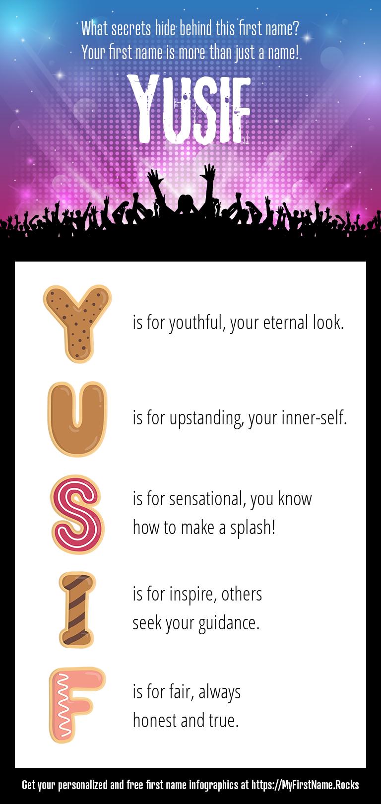 Yusif Infographics