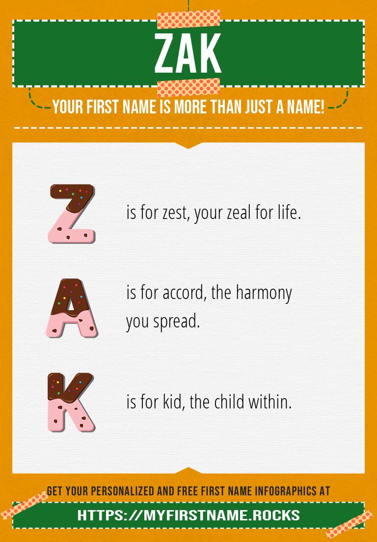 Zak Infographics