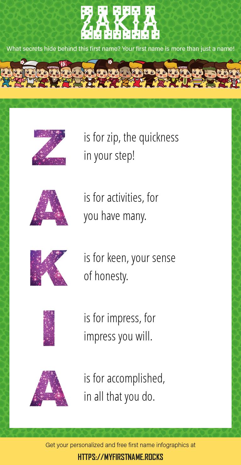 Zakia Infographics