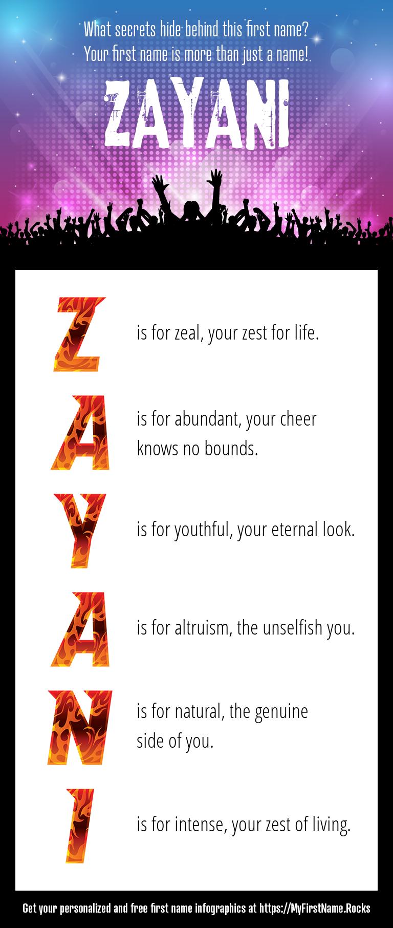 Zayani Infographics