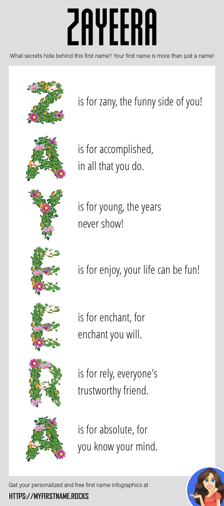 Zayeera Infographics