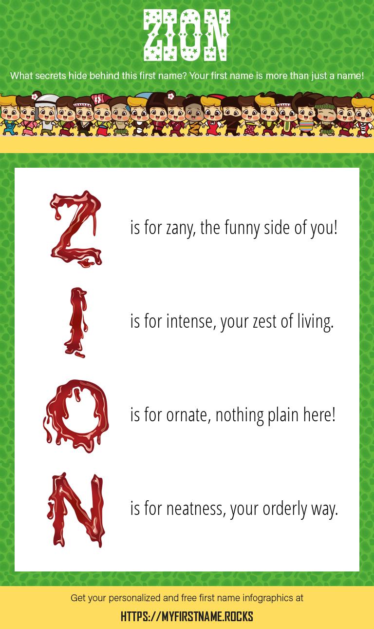 Zion Infographics