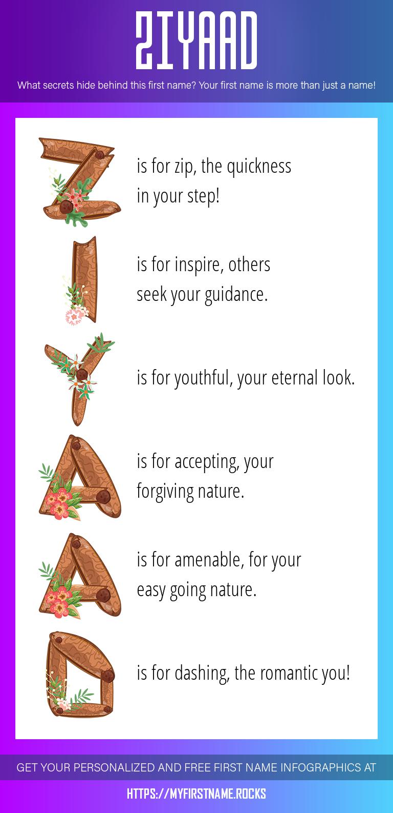Ziyaad Infographics